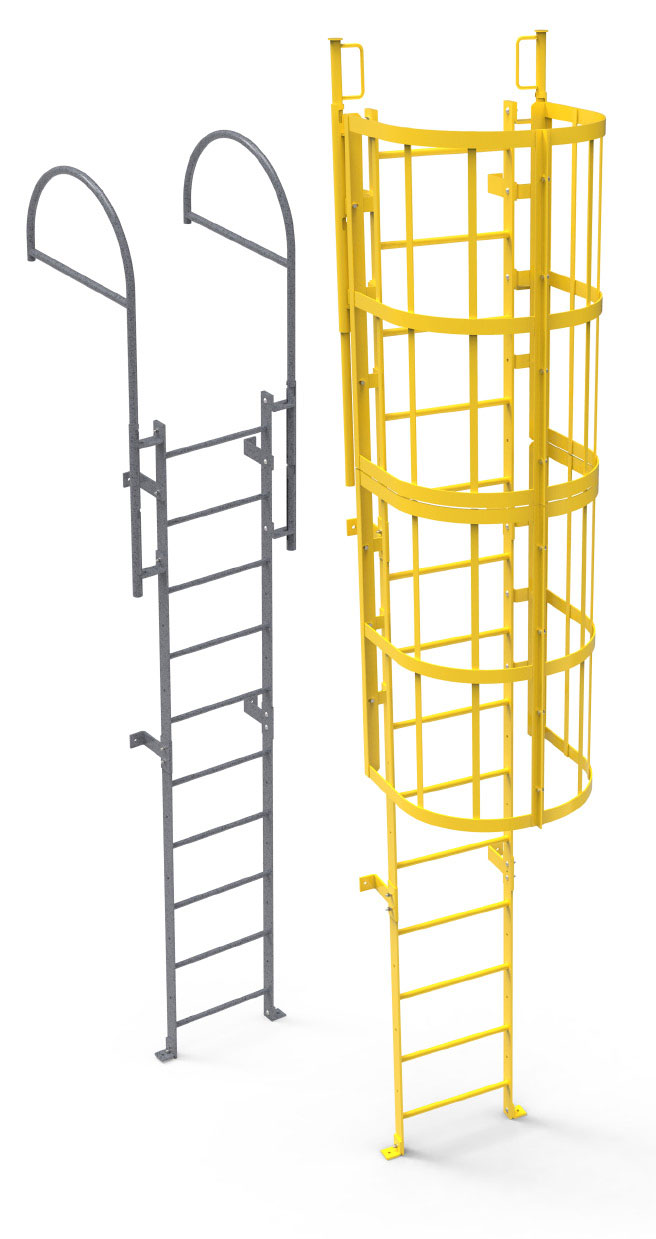 Ladders Fixed Shaft Modular Ladder System Platinum